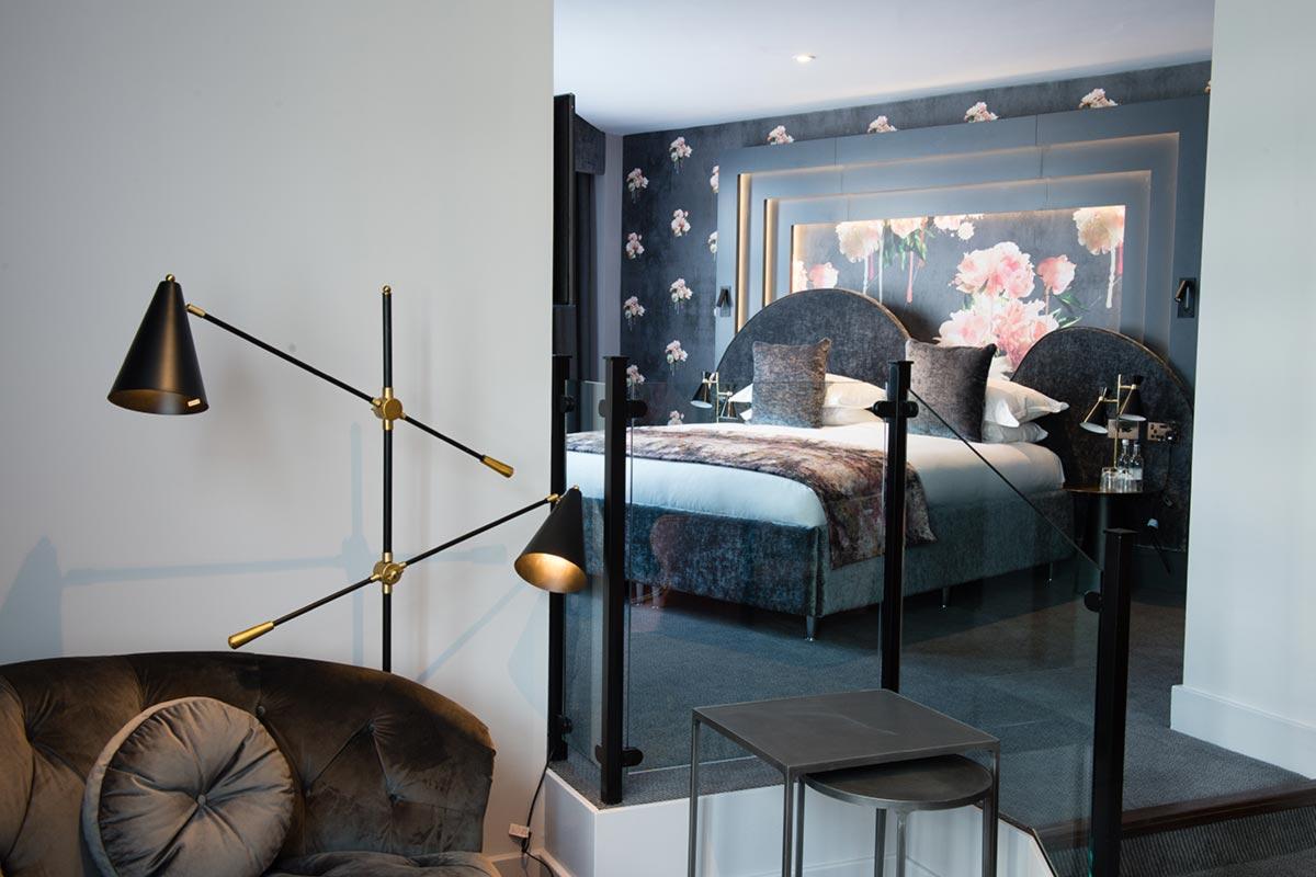 Malmaison Suites, Manchester Room 207 Hotel Lighting