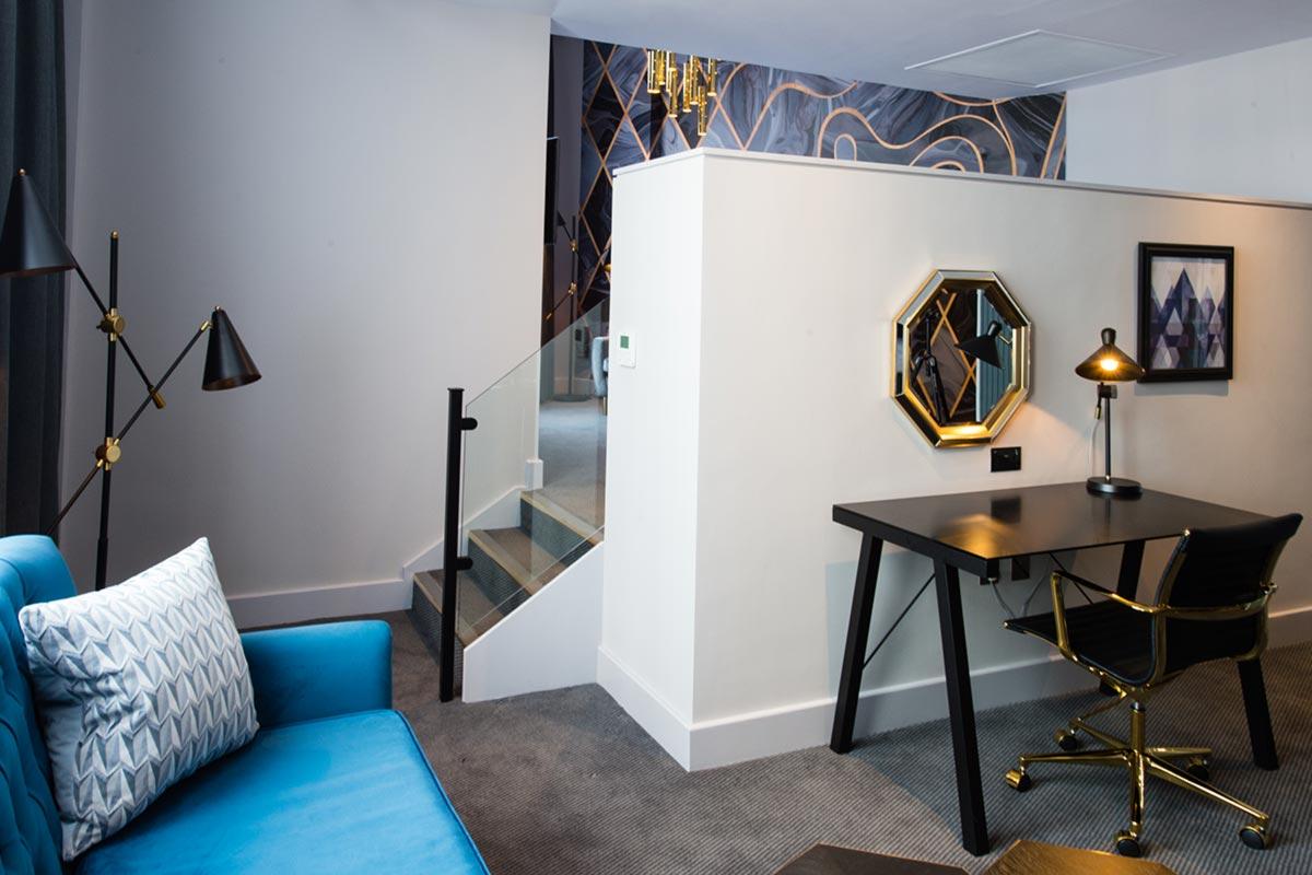 Malmaison Suites, Manchester Room 507 Hotel Lighting