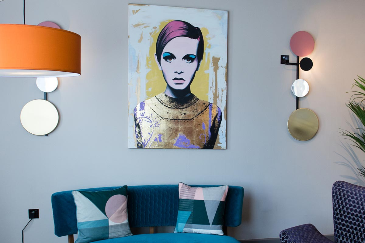 Malmaison Suites, Manchester Swinging Vogue Wall Lights