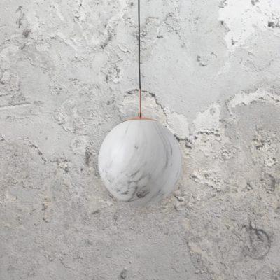 Marble Globe Pendant Light