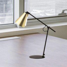 Matt Gold Table Lamp