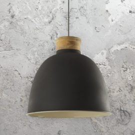 Matt Dark Grey Pendant Light