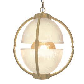 Matt Gold Glass Orb Pendant Light,Frosted Glass Orb Pendant Light