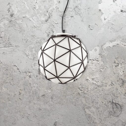 Melted Glass Pendant Light