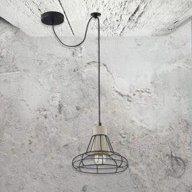 Cage Concrete Pendant Light CL-34802