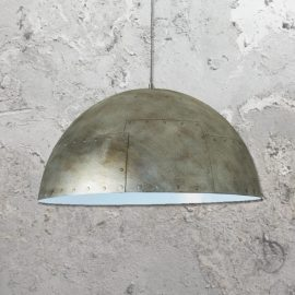 Metal Dome Pendant