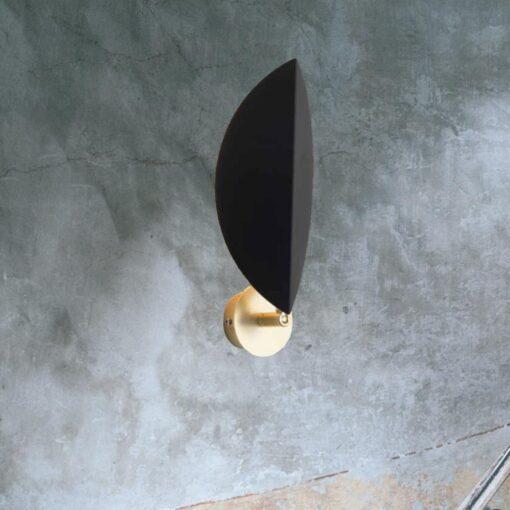 Metal Leaf Wall Light