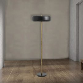 Minimal Brass Floor Lamp