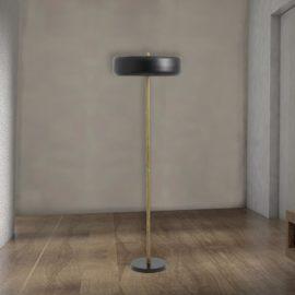 Minimal Brass Floor Lamp