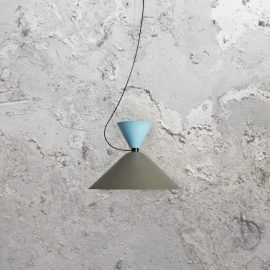 Minimal Scandinavian Pendant Light,grey contemporary Scandinavian style pendant