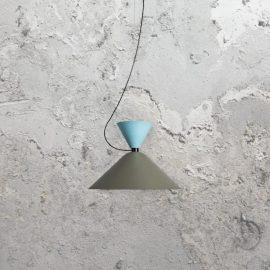 Minimal Scandinavian Pendant Light,grey contemporary Scandinavian style pendant
