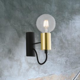 Minimal Vintage Gold Wall Light