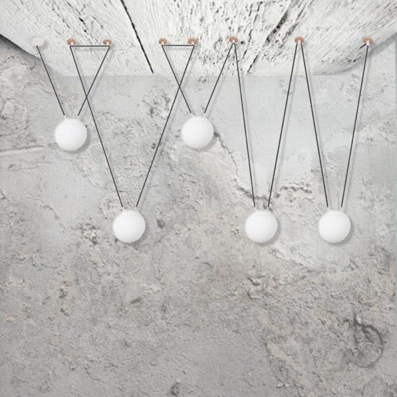 5 Light Pendant