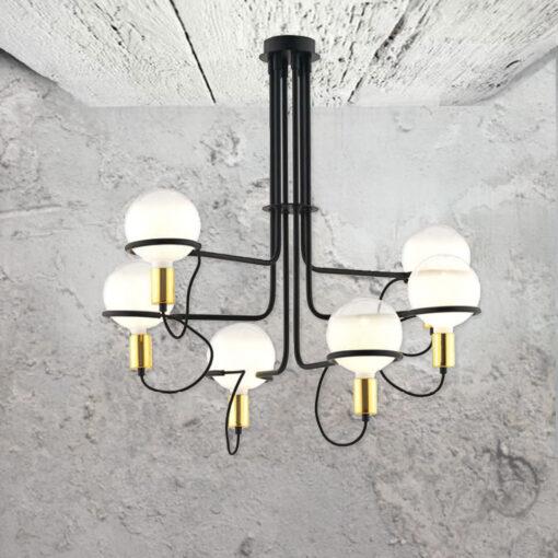 Modern 6 Light Fitting
