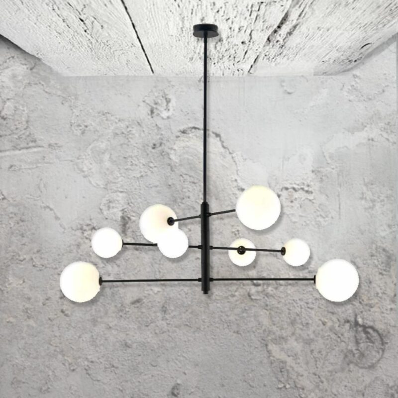 Modern 8 Light Pendant