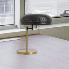 Modern Brass Hotel Table Lamp