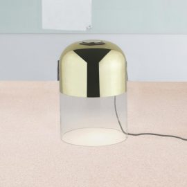 Modern Clear Glass Table Lamp
