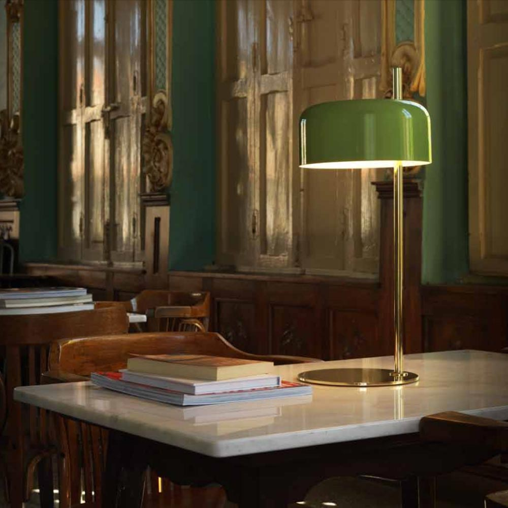Modern gold table lamp cl 33001 products e2 contract lighting uk modern gold table lamp aloadofball Images