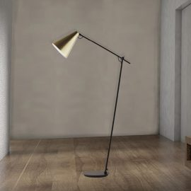 Modern Matt Black Floor Lamp,modern matt gold floor lamp