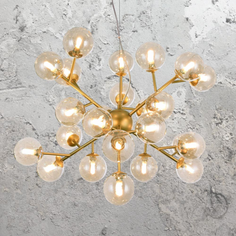 Modern Arm Chandelier: Modern Multi Arm Chandelier CL-35349-50