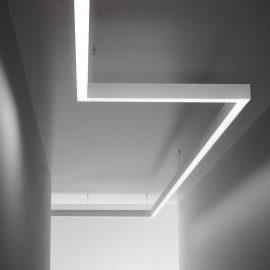 Modular LED Pendant Lighting System