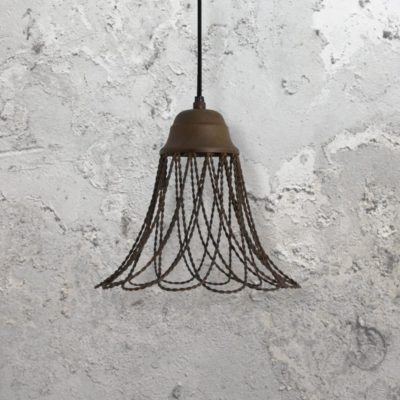 Old Rust Pendant Light
