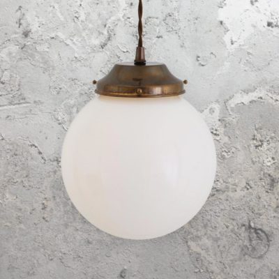 Opal Globe Pendant Light 200mm