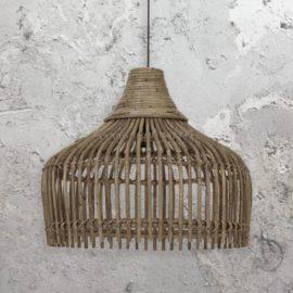 Open Rattan Pendant Light
