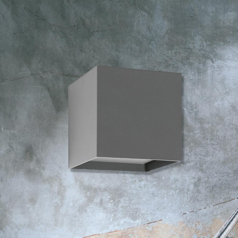 Outdoor cube wall light cl 33714 products e2 contract lighting uk outdoor cube wall light aloadofball Choice Image