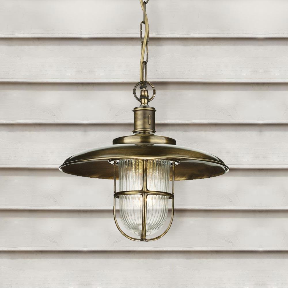 Outdoor Industrial Pendant Light: Industrial Outdoor Fisherman Pendant Light CL-36143