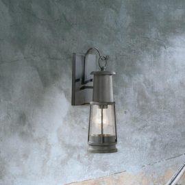 stylish outdoor seeded glasswalllantern light