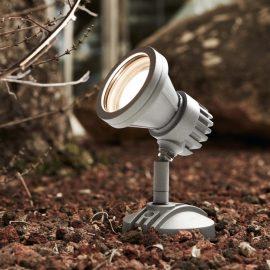 grey LED outdoor spotlight