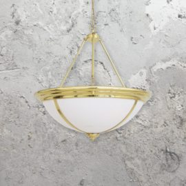Polished Brass Centre Light