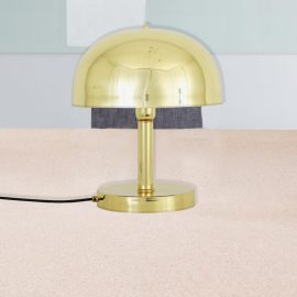 Polished Brass Table Lamp