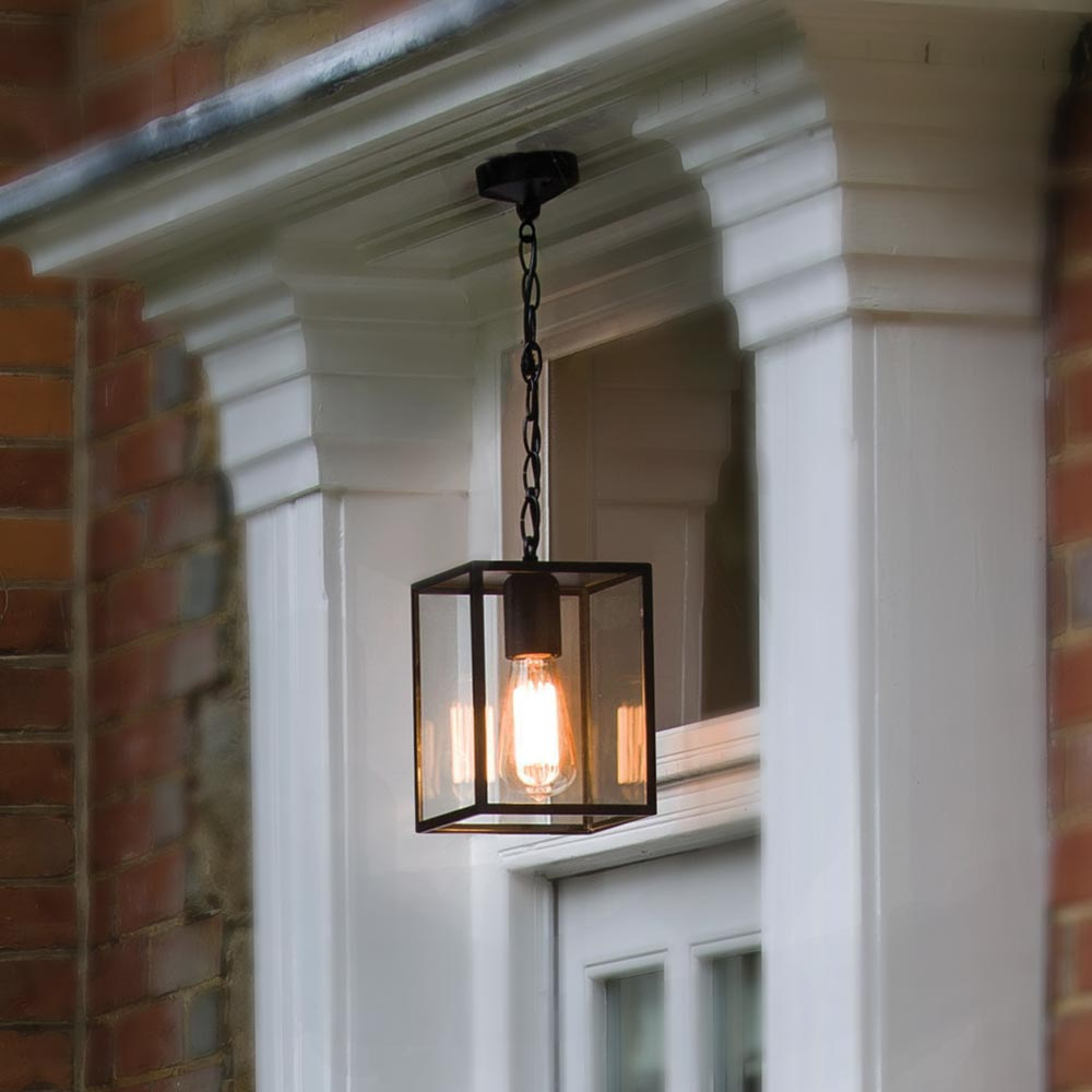 Black outdoor porch pendant light cl 33807 e2 contract lighting uk black outdoor porch pendant lightfront porch pendant light mozeypictures Choice Image