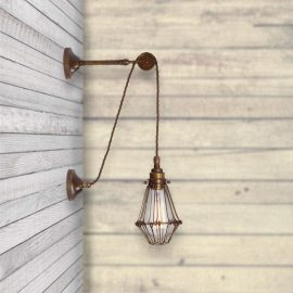 Pulley Wall Light