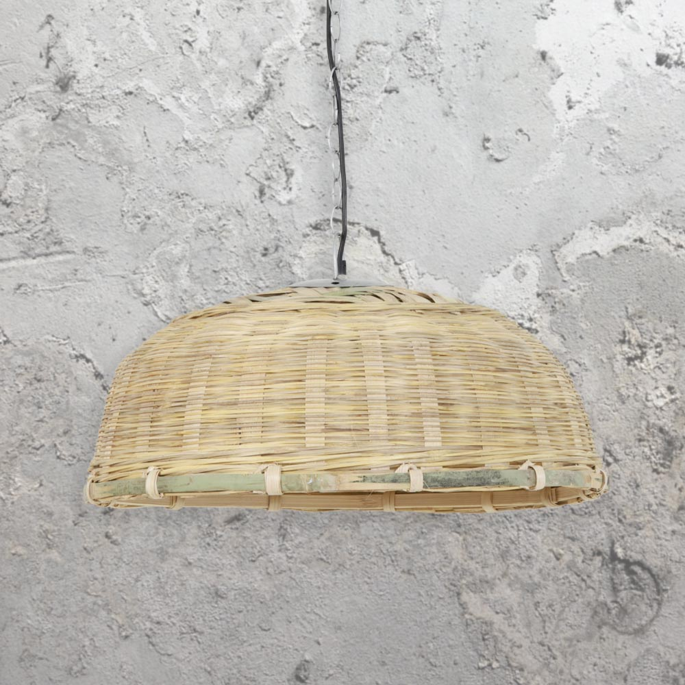 basket pendant light. Rattan Basket Pendant Light A