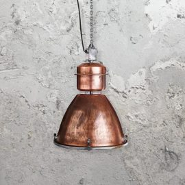 Reclaimed Copper Dome Pendant Light