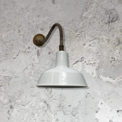 Reclaimed Enamel Wall Light