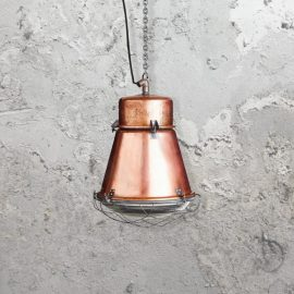 Reclaimed Factory Copper Pendant Light