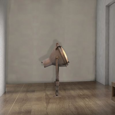 eclaimed Floor Wall Lamp