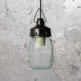 Reclaimed Jar Light,Jar Light,glass jar pendant light