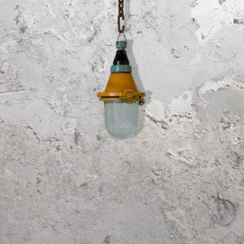 Reclaimed Orange Pendant