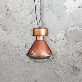 Reclaimed Retro Copper Pendant Light CLB-00590