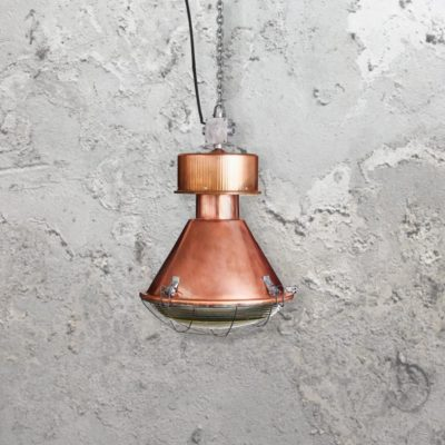 Reclaimed Retro Copper Pendant Light CLB-00590