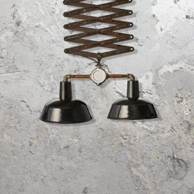 Reclaimed Scissor Pendant