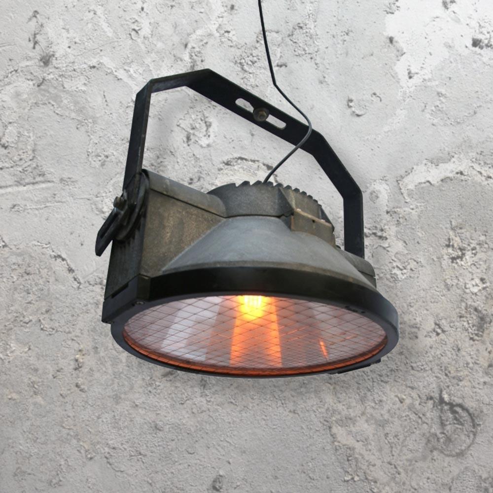 Roping Arena Lights: Reclaimed Stadium Lamp