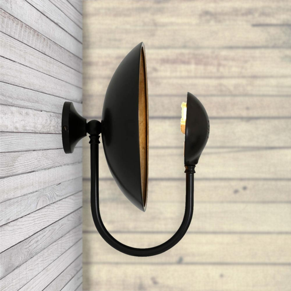 Reflective Dish Wall Light Cl 33536 Product E2