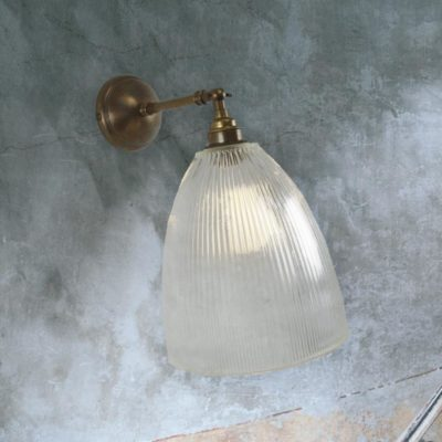 Ribbed Adjustable Wall Light
