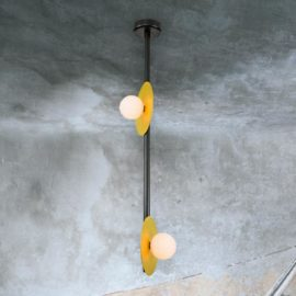 Rod Discs Pendant Light